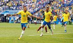 """Le Brésil de Neymar échappe à la malédiction des favoris - Le jeu de massacre est terminé. La faucheuse qui a fait des ravages avec les éliminations de lAllemagne de lEspagne de lArgentine et du Portugal a stoppé au moins provisoirement sa course folle. - https://ift.tt/2IK0QLR - \""""lemonde a la une\"""" ifttt le monde.fr - actualités  - July 02 2018 at 09:44AM"""