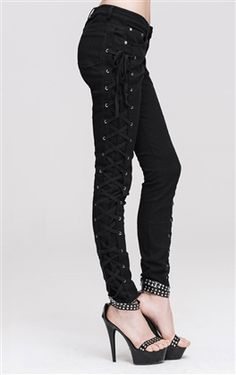 Devil Fashion Gothic Pyretta Trousers