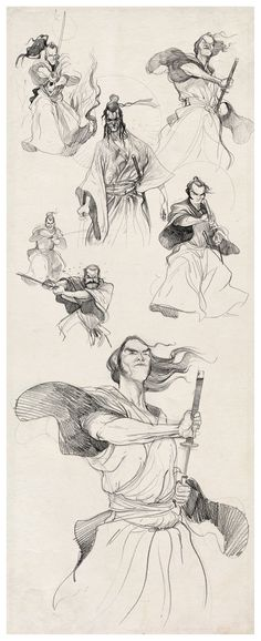 samurais-sketches-braga-diburros