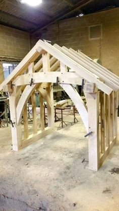 Details about Oak Porch Doorway Wooden porch CANOPY Entrance Self build kit porch & Details about Oak Porch Doorway Wooden porch CANOPY Entrance ...
