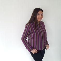 Silk, Blouse, Long Sleeve, Sleeves, Shirts, Tops, Women, Fashion, Moda