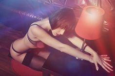 sensual woman in sexy lingerie - sensual woman in sexy lingerie
