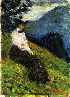 Wassily Kandinsky, Kochel – Gabriele Munter 1902