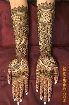 50 Most Beautiful Bridal Mehndi Design (Bridal Henna Design) that you can apply on your Beautiful Hands and Body during your Marriage. Full Mehndi Designs, Bridal Henna Designs, Henna Designs Easy, Beautiful Henna Designs, Mehndi Design Images, Mehndi Designs For Hands, Beautiful Hands, Most Beautiful, Designer Dresses