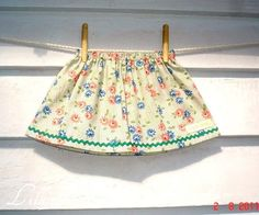 infants VINTAGE skirt all cotton