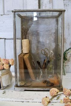 Ornate display observation box French by AnitaSperoDesign on Etsy