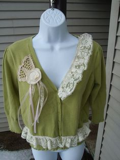 upcycled clothing ideas | Women Upcycled Altered Couture Clothing Recycled by MilliesCorner, $32 ...