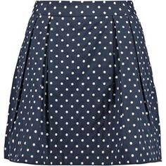 mint&berry Spódnica mini navy blazer
