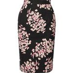 Jonathan Saunders Axel floral-print stretch-cotton pencil skirt