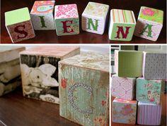 Wood Block Tutorial - cute idea for friends