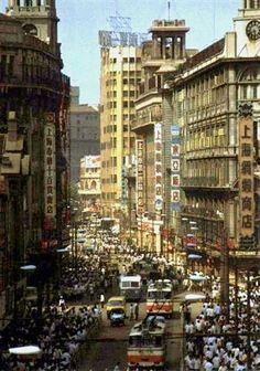 A Gweilo in China pt. Shanghai City, Old Shanghai, Nanjing, Urban Life, Old Photos, Street Photography, Hong Kong, Asia, Street View