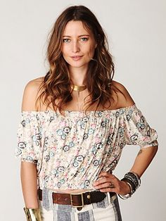 I love gypsy tops!
