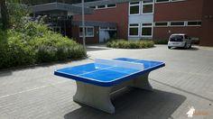 Pingpongtafel Afgerond Blauw bij Bad Bevensen in Bad Bevensen