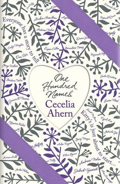 One Hundred Names bu Cecelia Ahern.  You cant beat a good chick lit book when you are on holiday!
