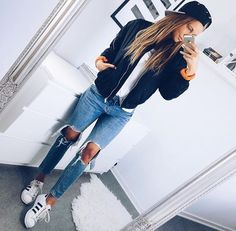 144 Best Cute outfits images in 2019   Woman fashion, Womens fashion ... 70ef07be2d4e