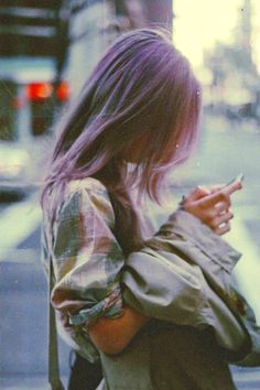 Grunge images, image search, & inspiration to browse every day. Pastel Hair, Purple Hair, Violet Hair, Soft Purple, Dusty Purple, Purple Grey, Grunge Hair, Soft Grunge, Hair Inspo