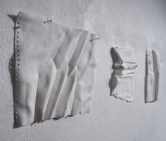 The Memory of Paper by eszter imre. ceramics