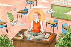 Can mindfulness help with the stress of teaching?  Excellent read.