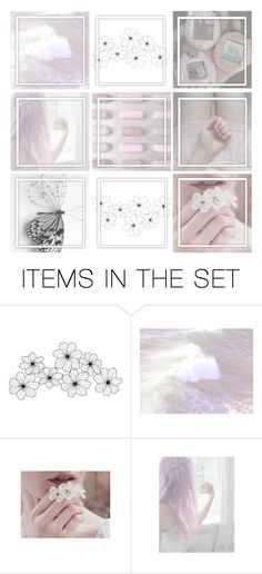 """""""White Aesthetic"""" by raynebowmaster ❤ liked on Polyvore featuring art"""