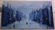 Magnet - Winter Walk by Yvoni Winter Walk, Walking By, Magnets, Joy, London, Photos, Blue, Painting, Glee