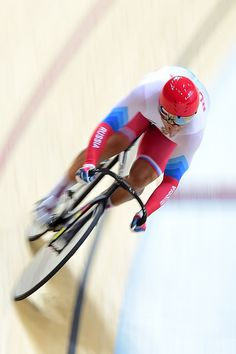 Denis Dmitriev of Russia competes in the Men's Sprint Qualifying on Day 7 of the…