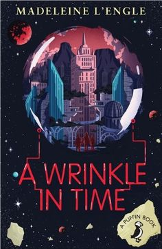 A Wrinkle in Time (A Puffin Book) by Madeleine L'Engle http://www.amazon.co.uk/dp/0141354933/ref=cm_sw_r_pi_dp_H0lkvb0PETTK6