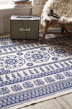 Plum & Bow Euphrates Printed Rug - Urban Outfitters #UOonCampus #UOContest