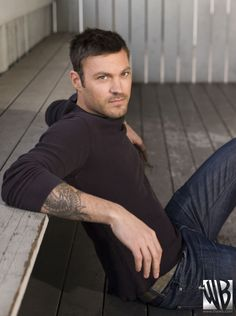 Brian Austin Green (I love that he went from a geek to cutie in 90210)