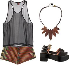 """fern"" by gwanaa ❤ liked on Polyvore"