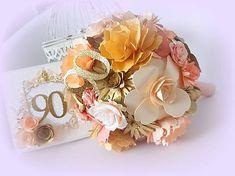 MagicArt / Krása života! Paper Flowers, Floral Wreath, Bouquet, Wreaths, Decor, Decoration, Decorating, Door Wreaths, Bouquets