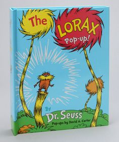 Take a look at this The Lorax Pop-Up! Hardcover by Dr. Seuss on #zulily today!