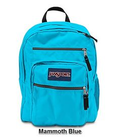 JanSport Big Student Solid Colors Backpack B1025 High Risk Red ...