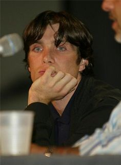 Cillian Murphy is *not* amused with life.