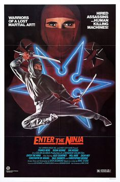cultoftheposter:  Enter the Ninja (1981)