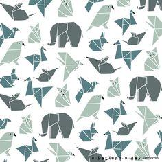 — Origami animals
