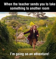 When the Teacher Sends You To Another Room