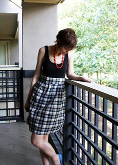 Talk2TheTrees: How To Make An Easy Dress (For Cheap!) Instead of a tanl top, use a t shirt