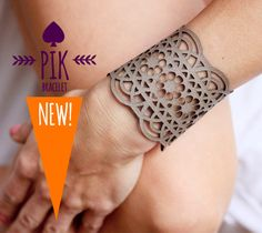 NEW model !!!!HOT PRICE!! Leather Bracelet cuff Leather Cuff Ladies Leather Bracelets Grey Leather no27