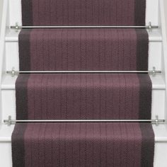 Putney Charcoal width) runner from Roger Oates - perfect! with co-ordinating flatweave carpet for landings in between Stair Railing, Railings, Concept Board, Carpet Stairs, Stairways, Charcoal, Neutral, Stair Runners, Trap