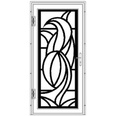 Elegante Flat High Definition Door