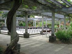 Uw Botanic Gardens Graham Visitors Center Patio Beautiful In Spring And Summer