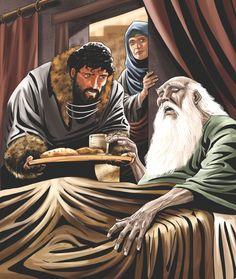 Isaac and Jacob. Genesis 27:1-29