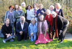 """New friends in Holland participating in """"The Power of Inner Peace."""""""