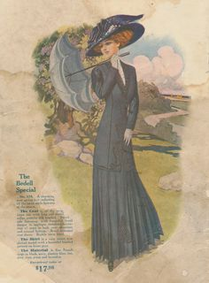 Fashion from the 1910 Spring and Summer Bedell's Catalogue ~ Clearly Vintage