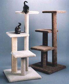 "49"" Custom 3-Tier Cat Tree #TreePlan - Top 10 at - Catsincare.com!"