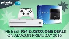 Prime Day 2016: The best Amazon Prime Day PS4 and Xbox One deals   Amazon Prime Day is here and we bet many of you have been holding out for some serious Prime Day discounts on PS4 and Xbox One consoles. Below you'll find Amazon's 'deals of the day' for Prime members and there some discounts on some tasty console bundles. Naturally we'll add in the best deals for games controllers and online memberships too.  We'll update this page over the course of the day with more Amazon Prime Day deals…