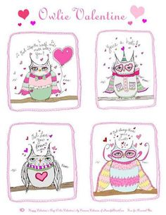 Free Printables: Kid Valentine Cards