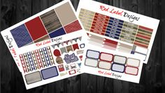 Winter Wine Weekly Bundle  Perfect for Vertical by RedLabelDesigns
