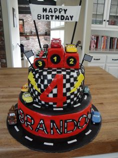 disney cars cakes and cupcakes - Google Search