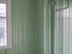 Panel, spont, lindblomsgrön